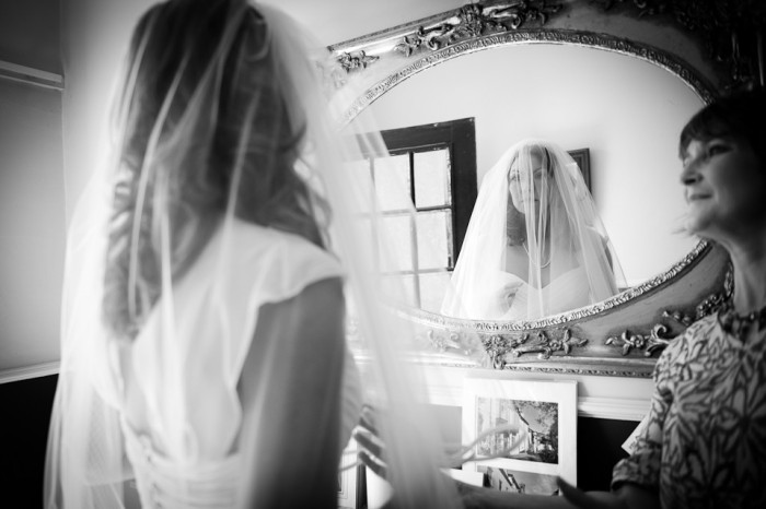 Documentary wedding photo used to illustrate questions to ask your wedding photographer