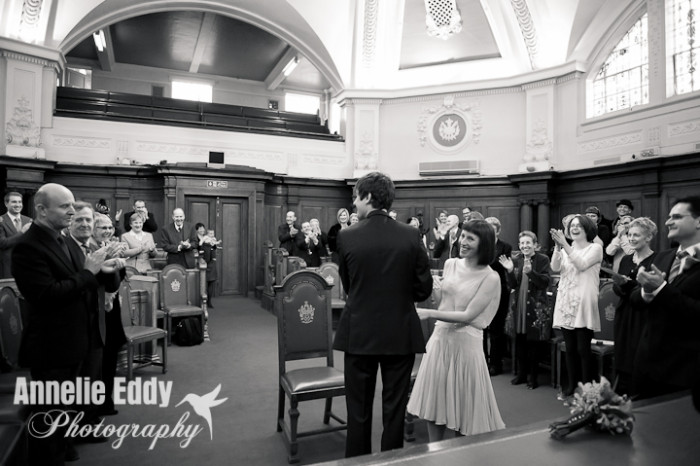 Wedding Islington Town Hall