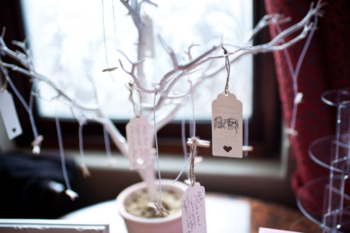 Wishing tree for wedding