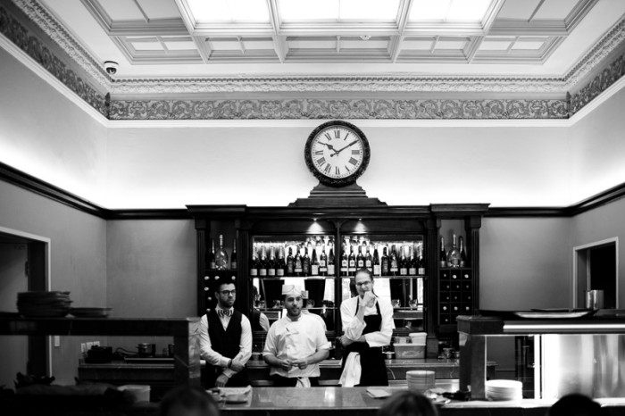 Staff at Crocker's Folly in St Johns Wood