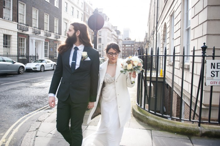 Couple portrait in Marylebone