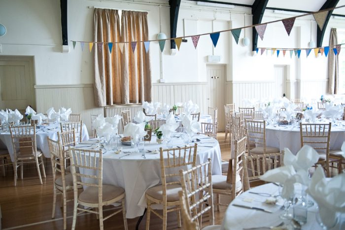 Lyne Village Hall wedding
