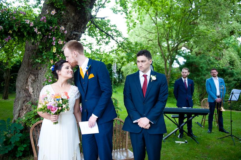 Humanist wedding ceremony at Ridge Farm