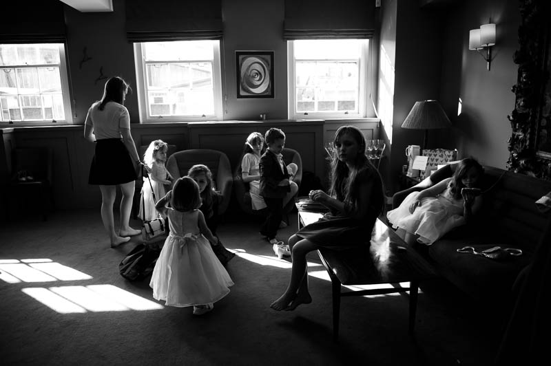 Children at Bird of Smithfield wedding