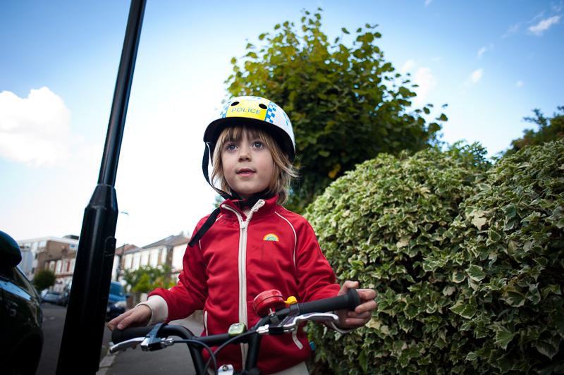 Boy on Isla bike