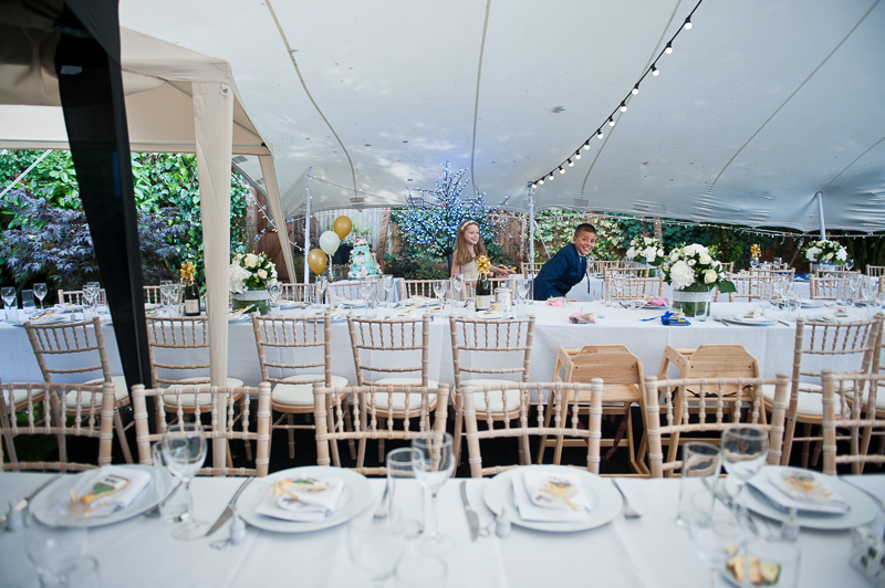 Winchmore Hill garden wedding