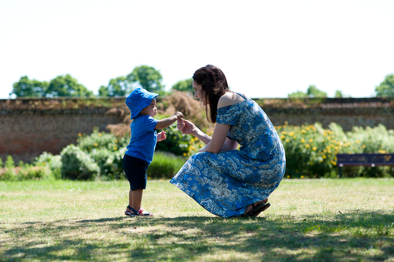Mother and son captured by baby photographer Palmers Green