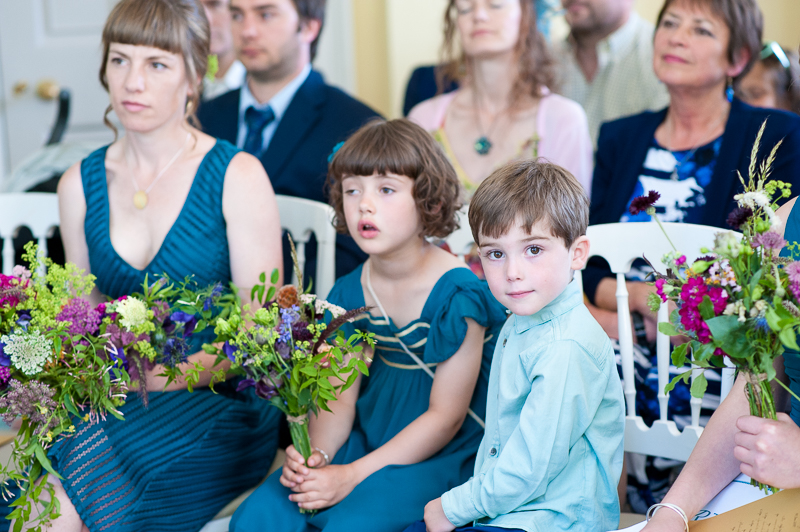 Guests at Clissold House wedding