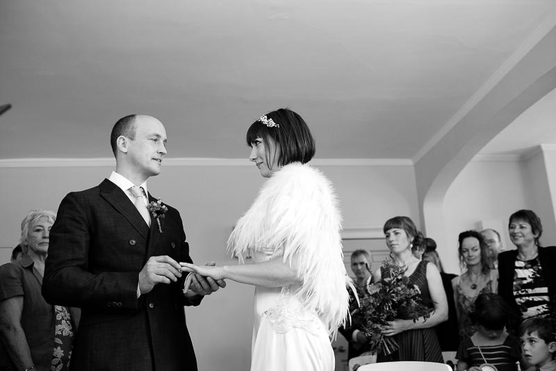 Wedding ceremony Clissold House