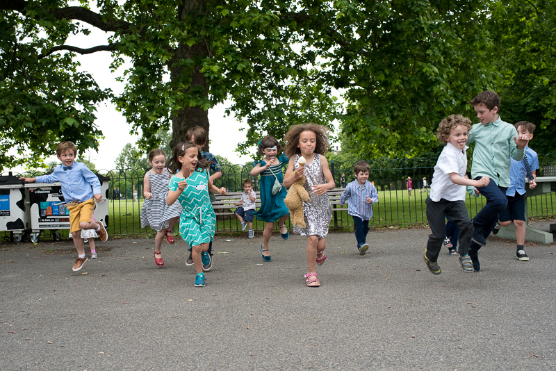 Family friendly kids entertainment at Clissold House