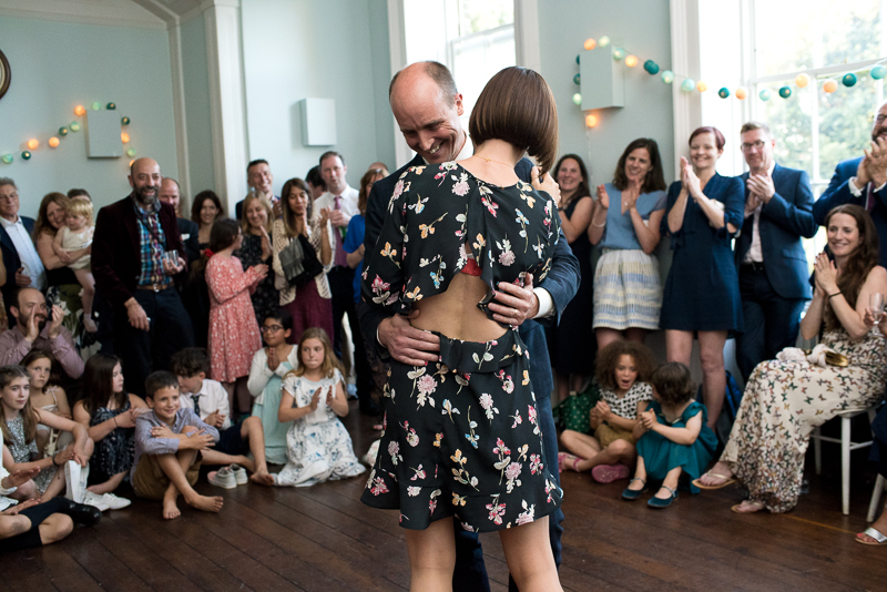 First dance at Clissold House wedding