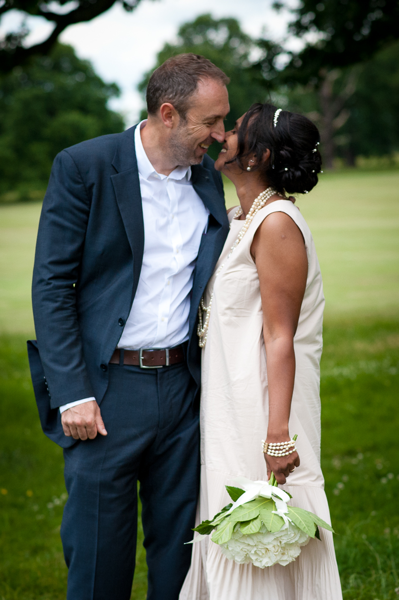 Couple portraits at Merton Registry Office