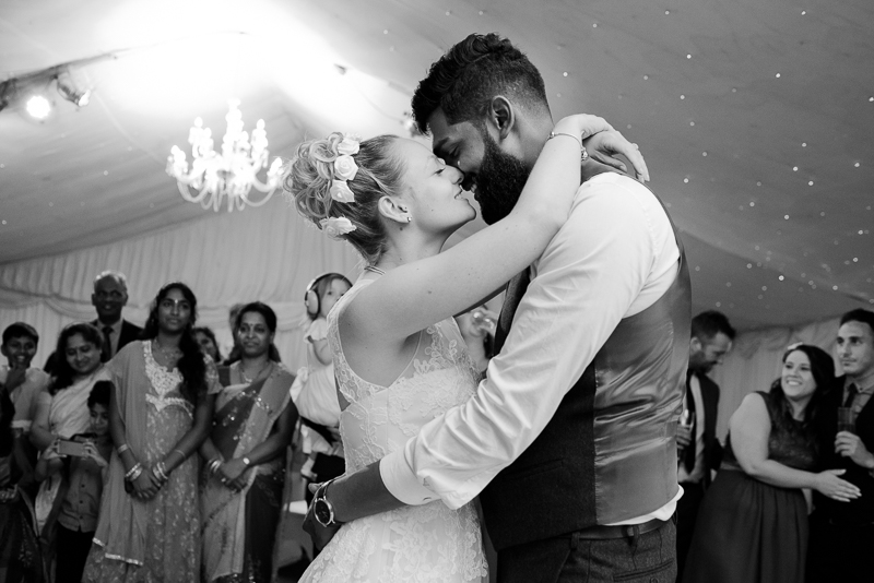 First dance at Noke Hotel wedding St Albans
