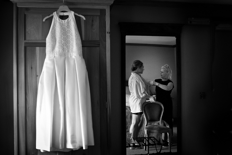 Bridal preparations at Grazing Goat Marylebone