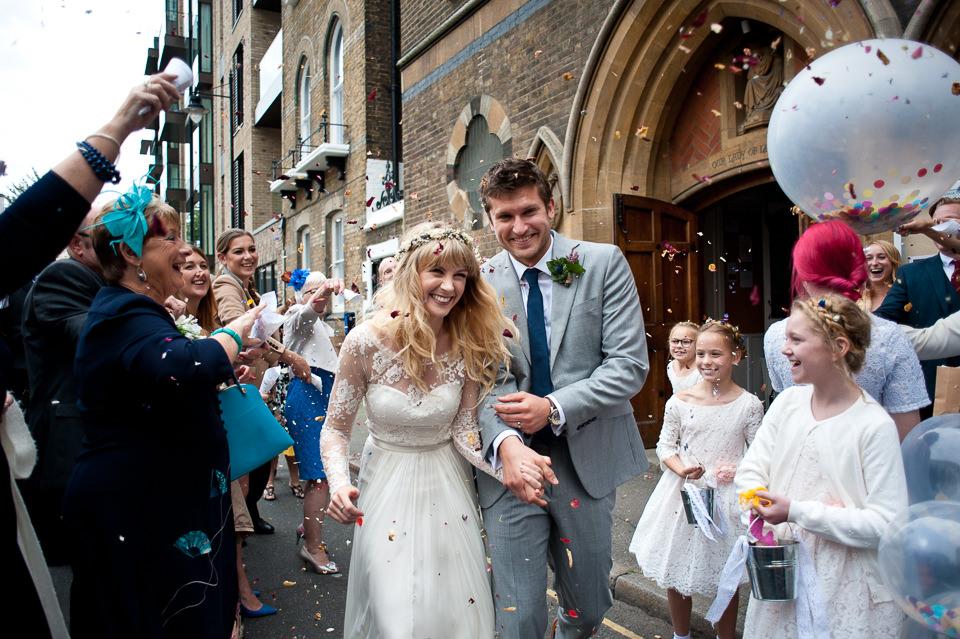 London Warehouse Wedding-210