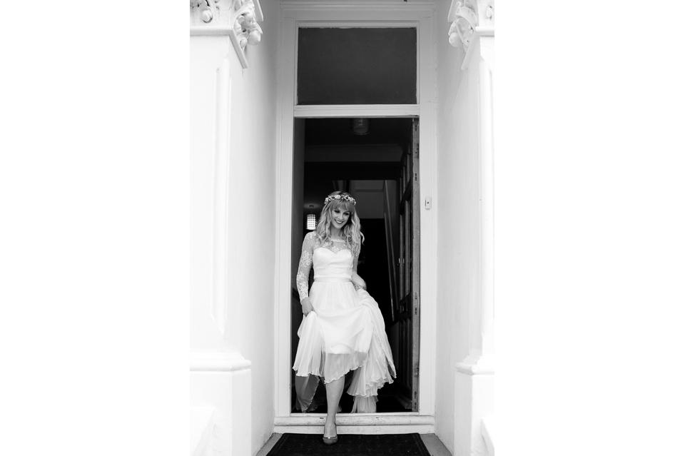 London Warehouse Wedding-82a