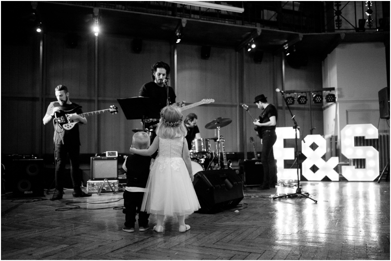 Indie wedding band at Queen Mary University Wedding, Annelie Eddy Photography