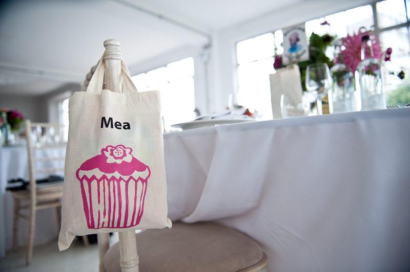Kids goodie bag at child-friendly wedding