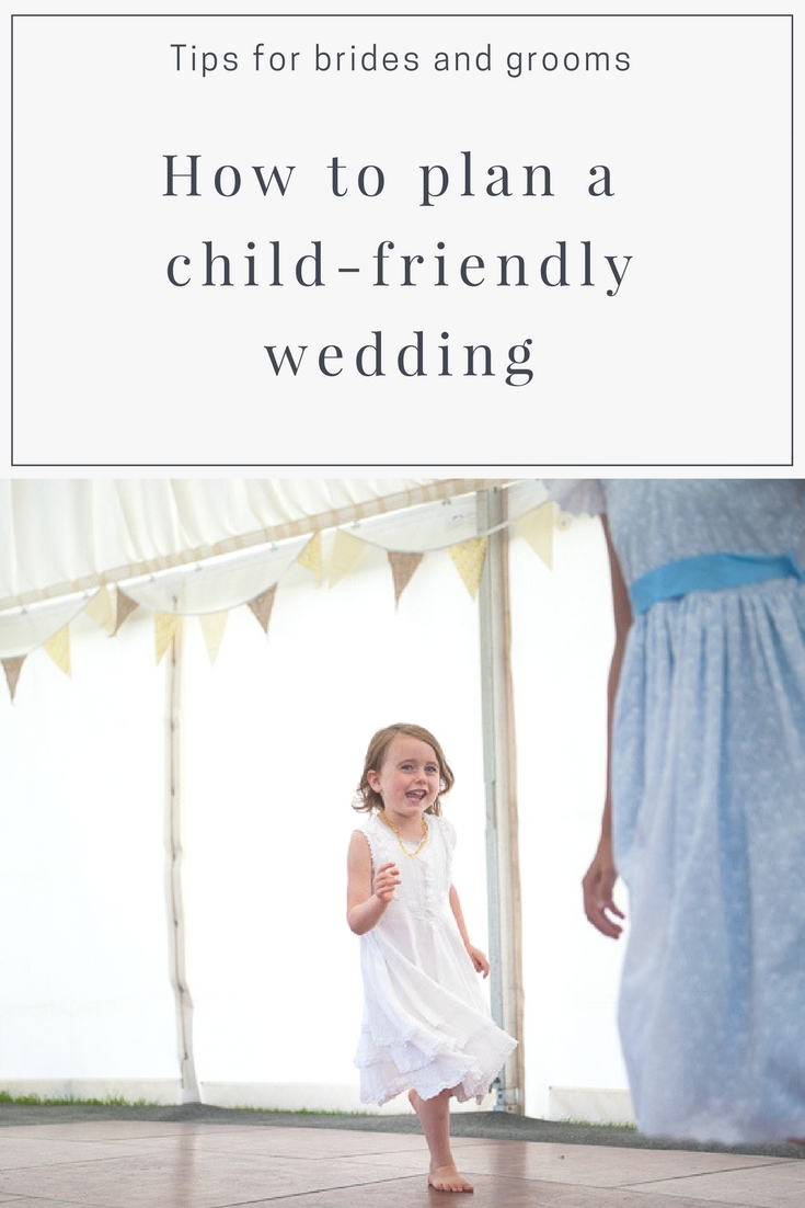 Tips for child-friendly wedding cover