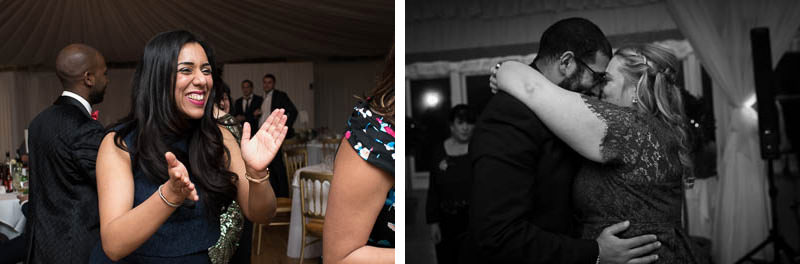 Dancefloor pics from Boreham House wedding