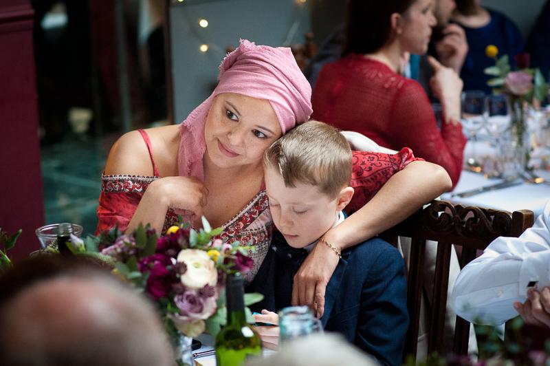 Guests at wedding at Londesborough Pub