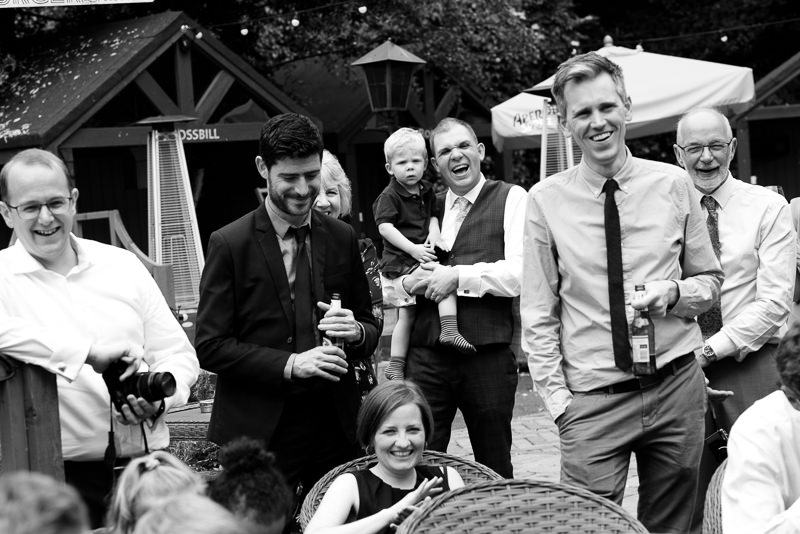 Magician performs at child friendly wedding in Dulwich