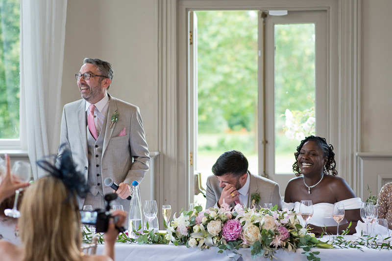 Best man's speech at Morden Hall