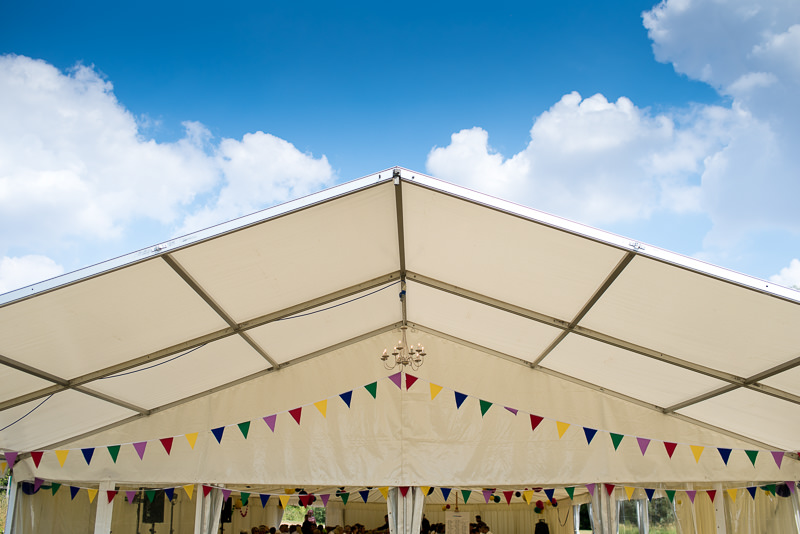 Marquee wedding at Springfield Park