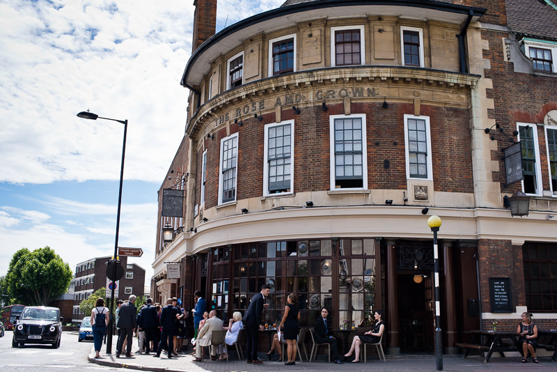 Rose and Crown Pub Stoke Newington