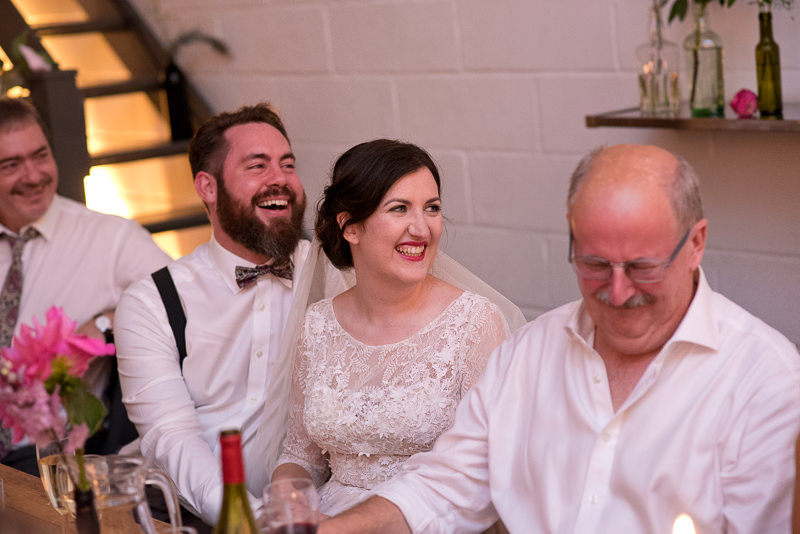 Speeches at Holburn Studios wedding