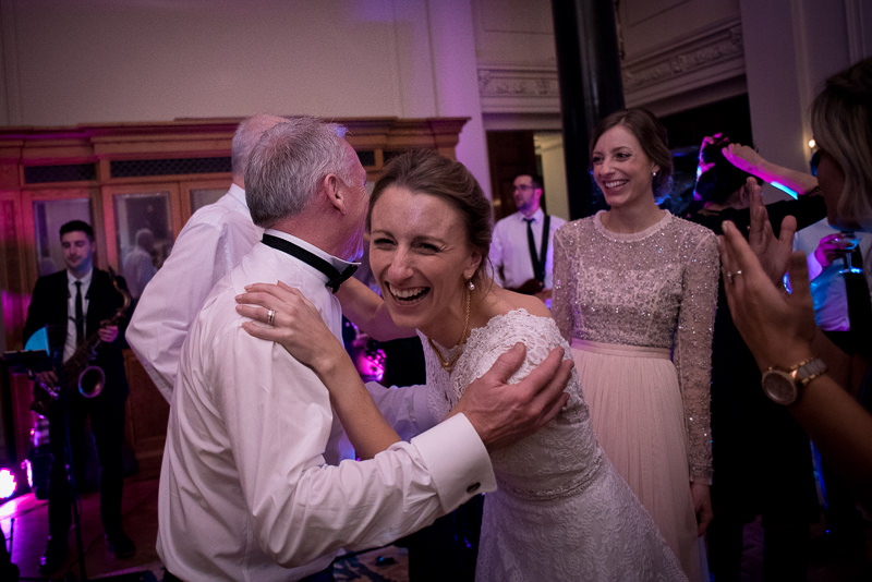 Bride dances with Dad at The Ned hotel wedding