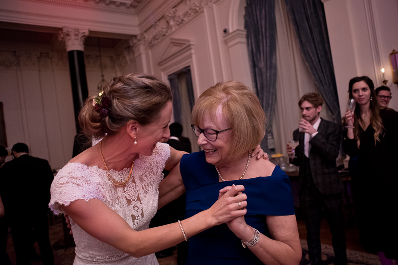 Bride dances with grandma at The Ned hotel wedding