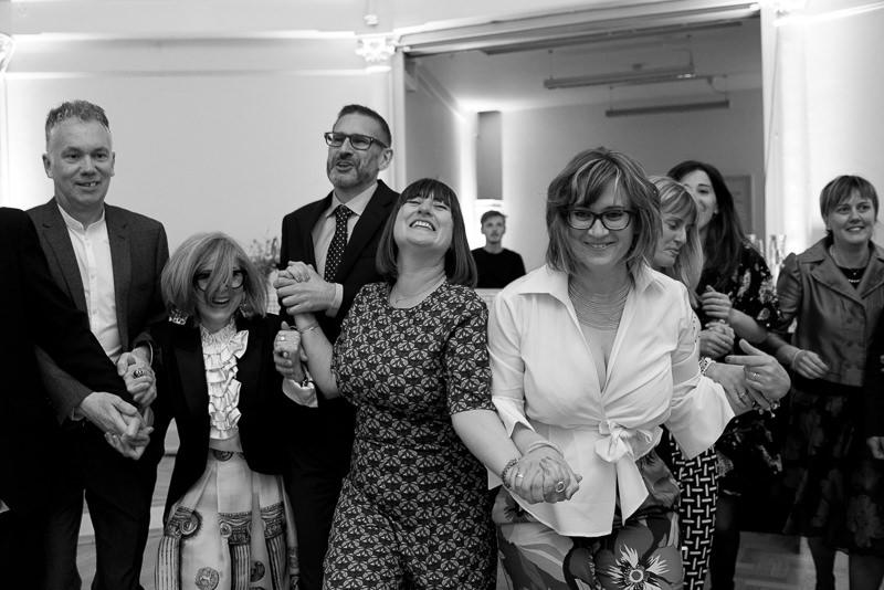 Wedding ceilidh in Shoreditch