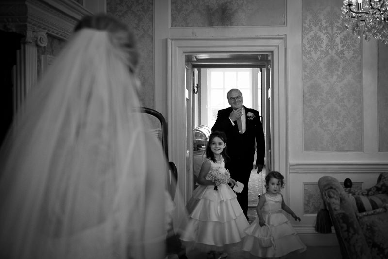 Dad sees daughter as bride